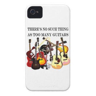 Too Many Guitars Case-Mate iPhone 4 Case