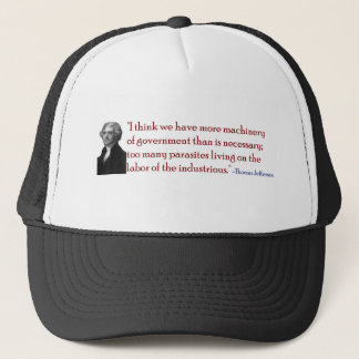 Too Many Parasites - Jefferson Quote Hat