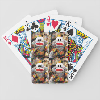 Too Many SockMonkeys Bicycle Playing Cards