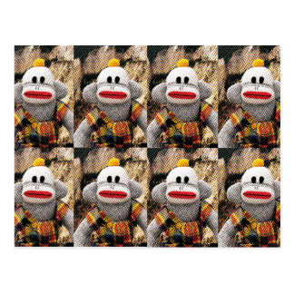 Too Many SockMonkeys Postcard