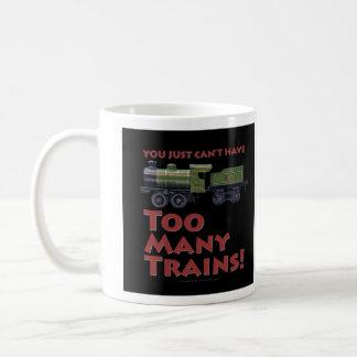 Too Many Trains! Clockwork Loco Coffee Mug