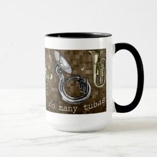 Too Many Tubas mug