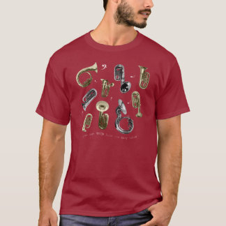 Too Many Tubas! T-Shirt
