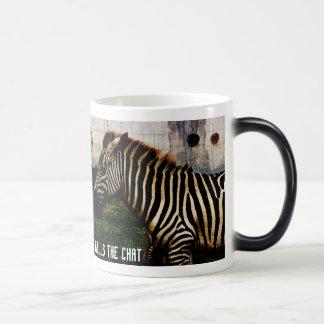 too much agreement zebras mug design