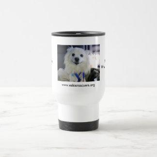 Too much caffeine? 15 oz stainless steel travel mug