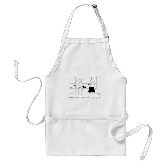 Too Much Coffee Adult Apron