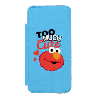 Too Much Cute Elmo iPhone SE/5/5s Wallet Case
