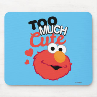 Too Much Cute Elmo Mouse Pad