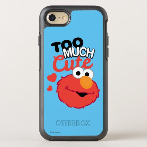 Too Much Cute Elmo OtterBox Symmetry iPhone 8/7 Case