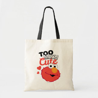 Too Much Cute Elmo Tote Bag