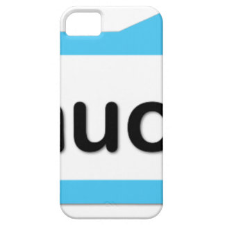Too much for you iPhone SE/5/5s case