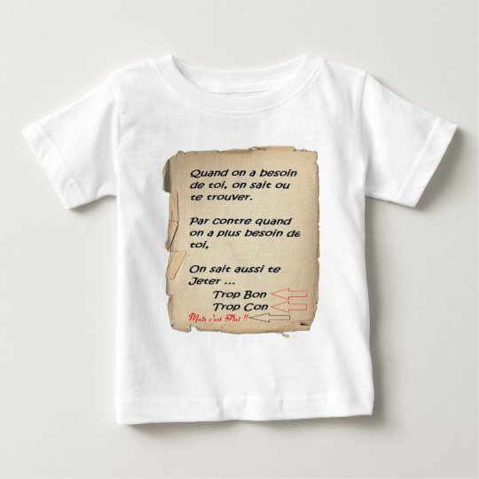 TOO MUCH GOOD TOO CON.png Baby T-Shirt