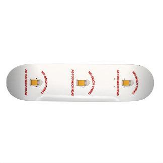 Too Much Head - Beer Skateboard Deck