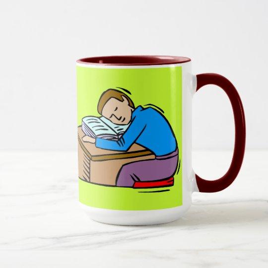 Too much homework mug