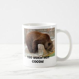 TOO MUCH HOT COCOA! COFFEE MUG
