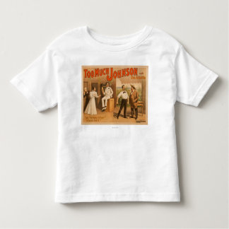 """""""Too much Johnson"""" - Two Men Fighting Theatre T-shirt"""