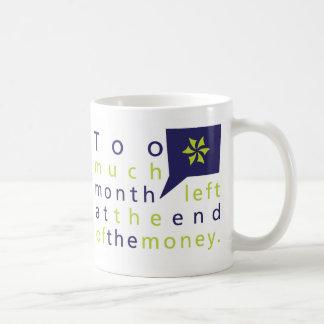 Too Much Mug (White) - Customized