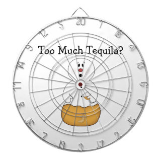 Too Much Tequila Dartboard