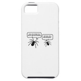 Too Much Time On The Web iPhone SE/5/5s Case