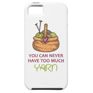TOO MUCH YARN iPhone 5 COVERS