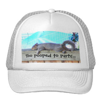 Too Pooped Hat