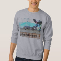 Too Pooped to Party Sweatshirt