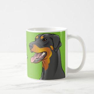 Too! Pop Art Grammar Police Awareness Dog mug