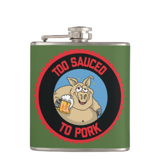 Too Sauced Flask