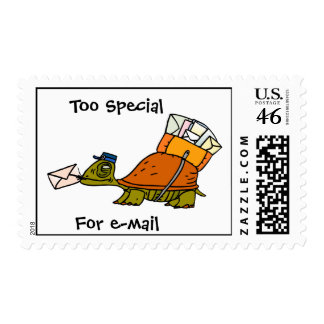 Too Special For Email Postage Stamp