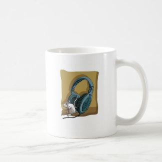 too strong music! coffee mug
