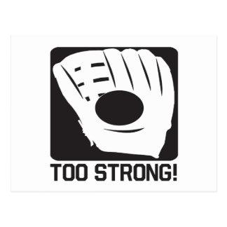 Too Strong Postcard