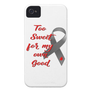 Too Sweet - Diabetes Ribbon Gift iPhone 4 Cover
