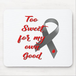 Too Sweet - Diabetes Ribbon Gift Mouse Pad