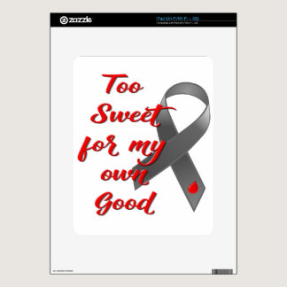 Too Sweet - Diabetes Ribbon Gift Skin For The iPad