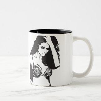too sweet Two-Tone coffee mug