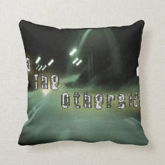 Too The Otherside--Out of Focus. Throw Pillow