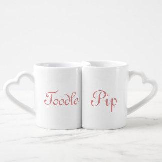 Toodle Pip ! Coffee Mug Set