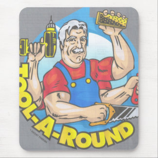 TOOL-A-ROUND LOGO MOUSE PAD