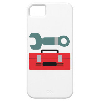 Tool Box and Wrench iPhone 5 Cases
