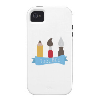 Tool Box Vibe iPhone 4 Covers