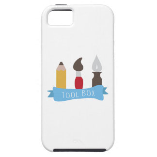 Tool Box iPhone 5/5S Cover