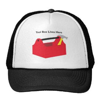 Tool Box Lives Here Trucker Hat