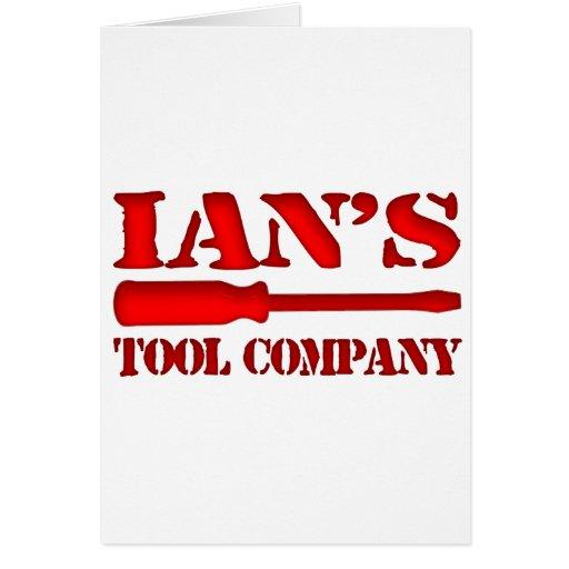 Tool Company de Ian Tarjetas