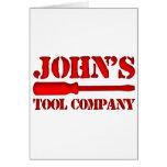 Tool Company de John's Tarjetón