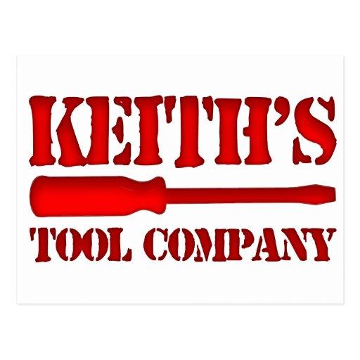 Tool Company de Keith's Postales