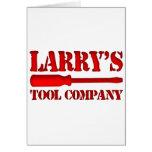 Tool Company de Larry's Felicitación