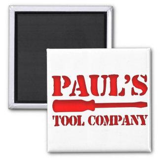 Tool Company de Paul's Imán Cuadrado