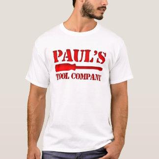Tool Company de Paul's Playera