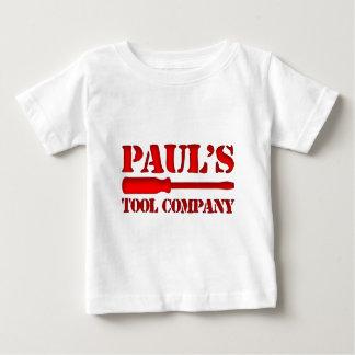 Tool Company de Paul's Playera De Bebé