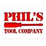 Tool Company de Phil Postales